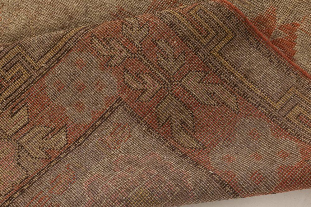 Samarkand Rug in Green and Orange BB6998