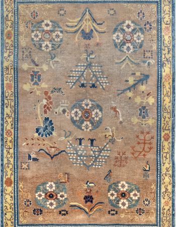 Vintage Samarkand Rug BB6970