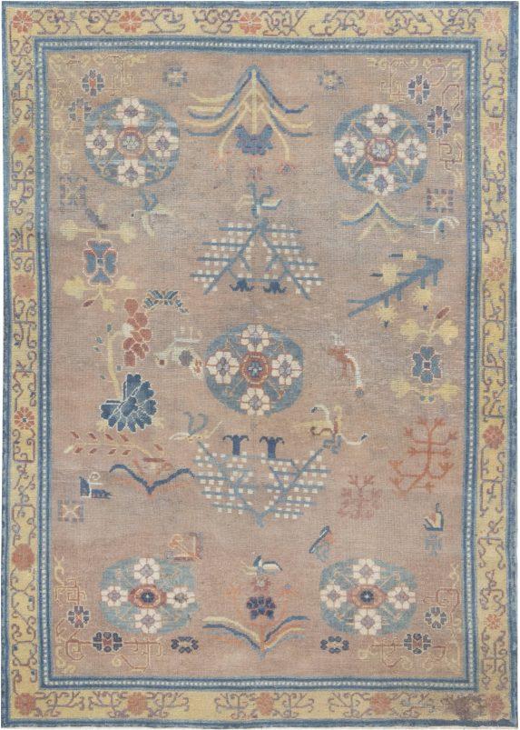 vintage-samarkand-blue-beige-rug-6×4-bb6970