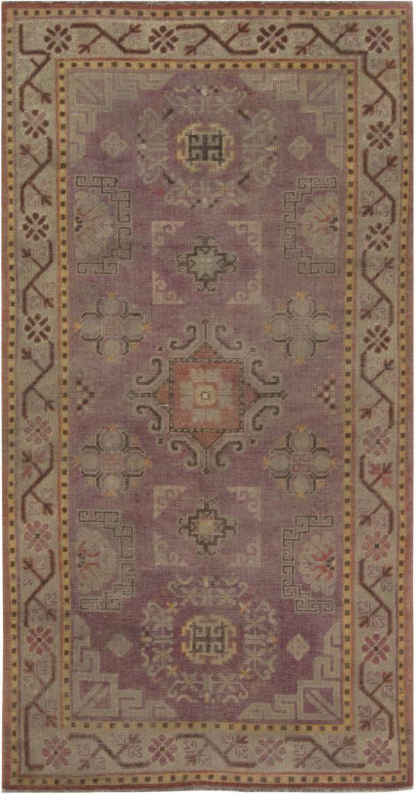 Vintage Samarkand Rug BB6997