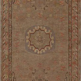 Samarkand Rug in Brown, Orange, Purple BB7001