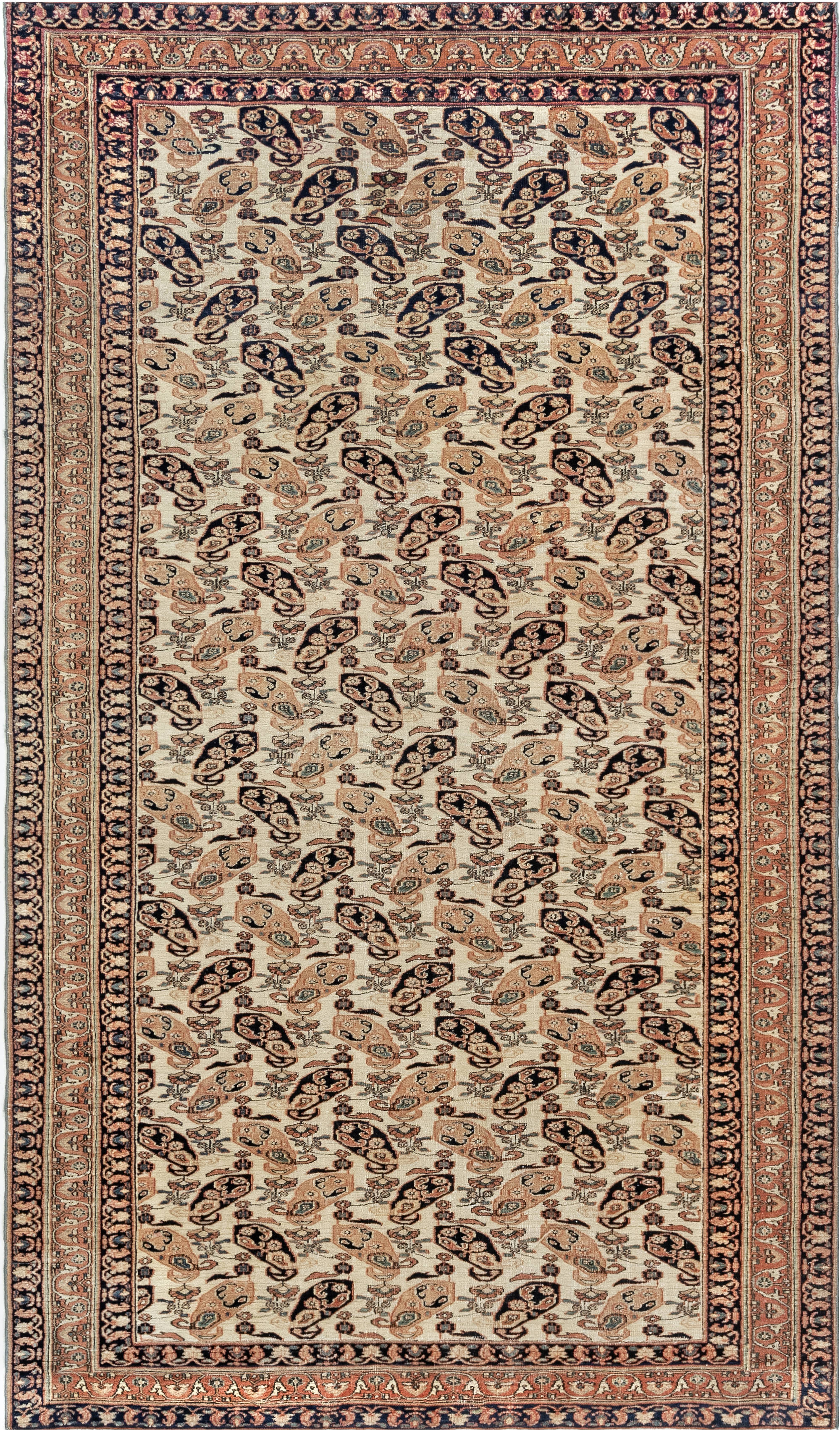 Antique Persian Tabriz Rug BB7014