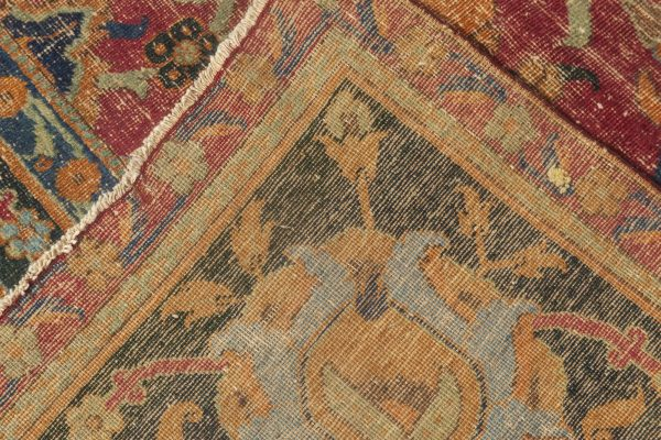 Antique Persian Isfahan Carpet BB6497