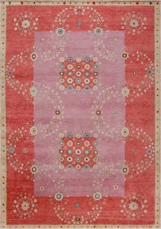 Swedish Pile Rug N12032 By Doris Leslie Blau