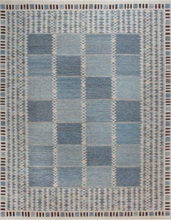 Swedish Flat Weave Rug N12046