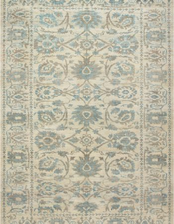 Traditional Oriental Inspired Tabriz Rug N12047
