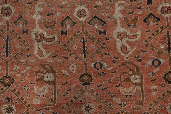 Antique Persian Bakshaish Rug BB7025