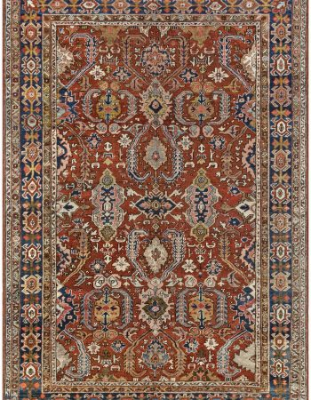 Antique Persian Heriz Rug BB7020