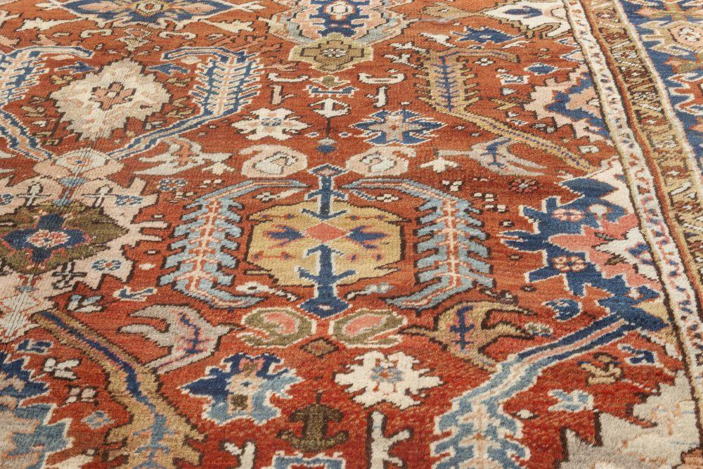 Antique Persian Heriz Rug BB7020