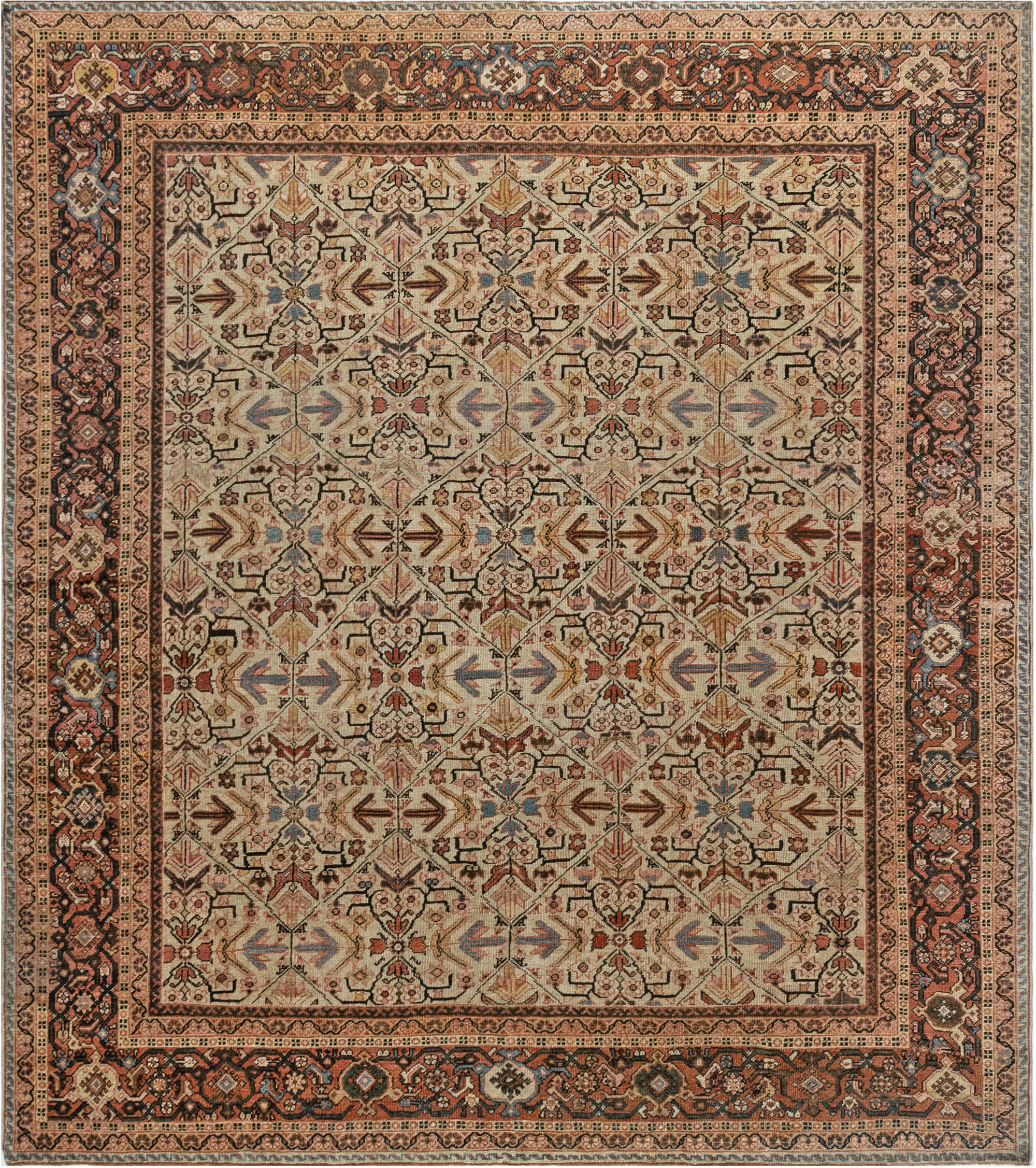 Persian Sultanabad Rug BB7028