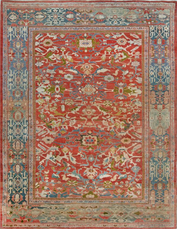 Antique Persian Sultanabad Rug BB7027