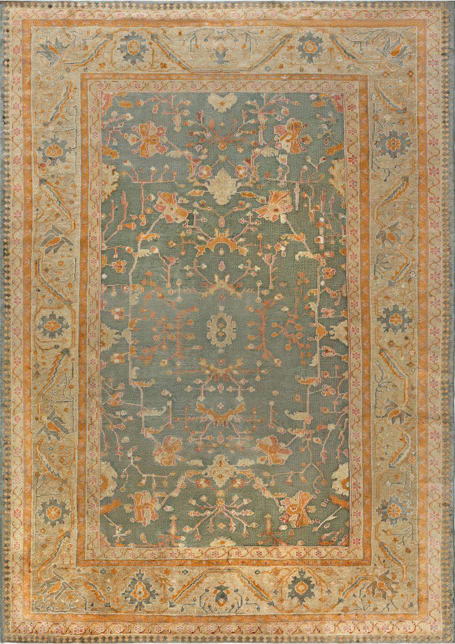 Antique Turkish Oushak Rug BB7015