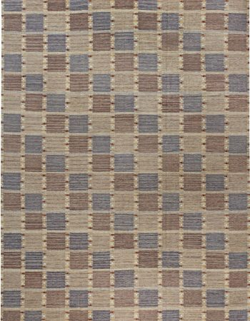 Swedish Flat Weave Rug N12054