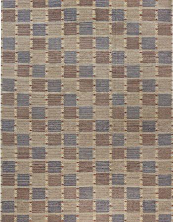 瑞典平织地毯N12054