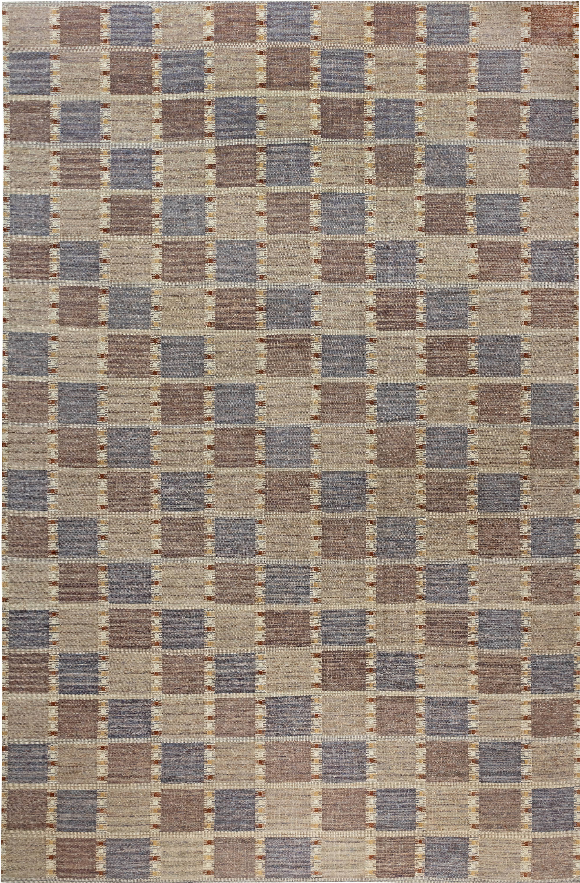 Swedish Flat Weave Rug N12054