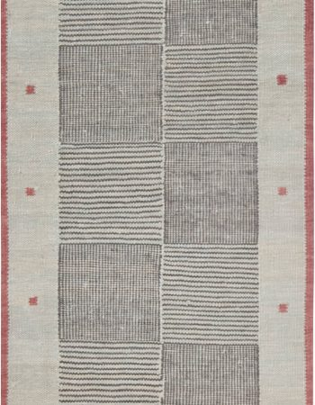 Swedish Flat Weave Runner N12056