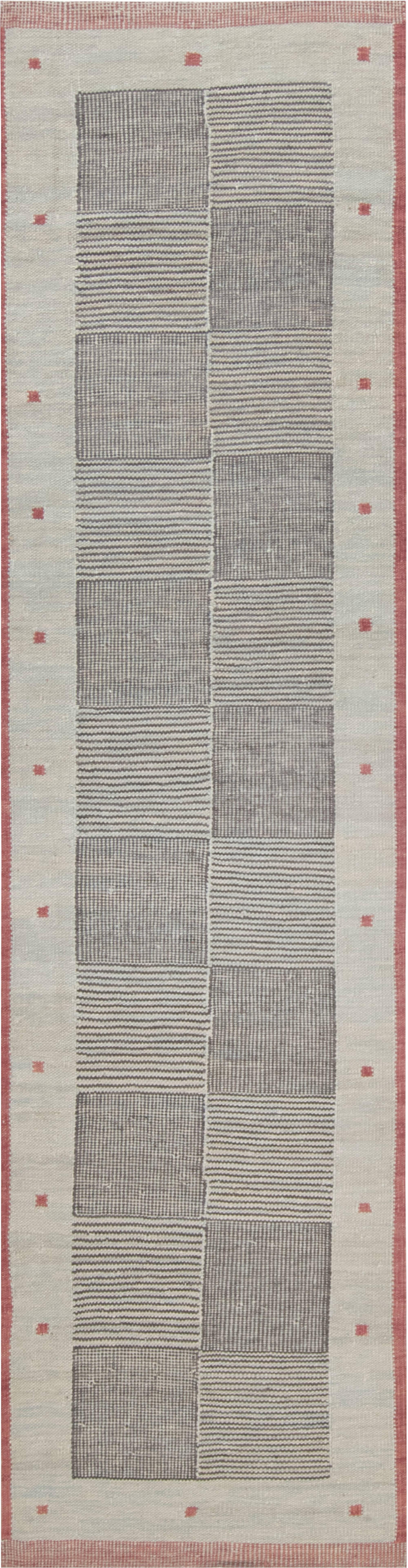 Swedish Flat Weave Runner N12056
