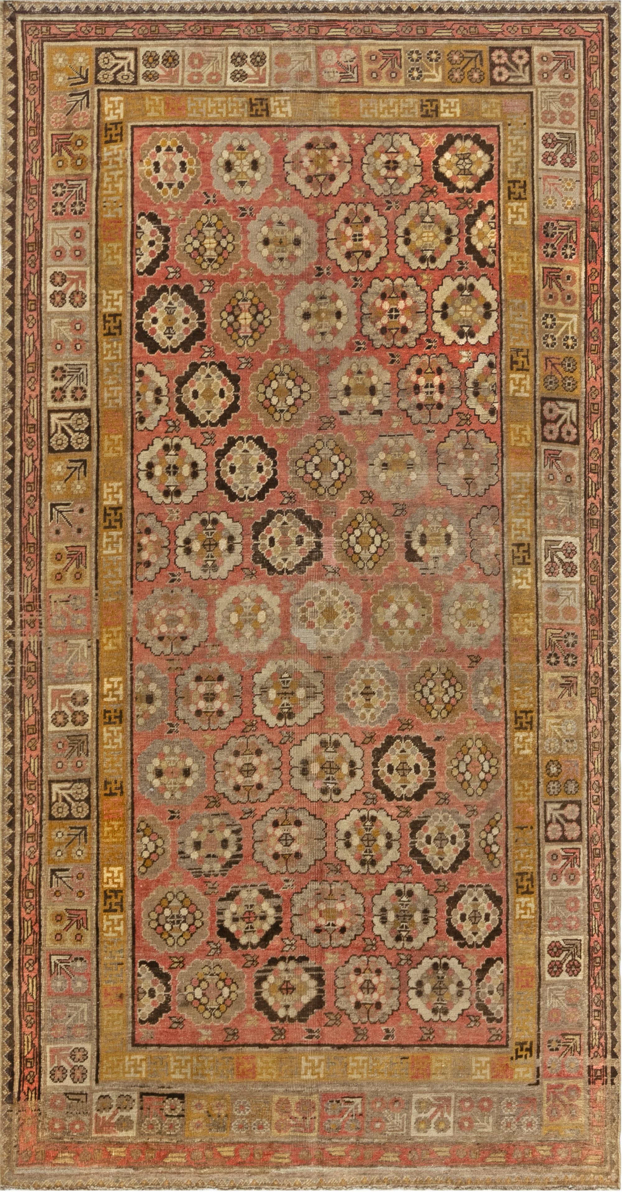 Vintage Samarkand Rug BB7019