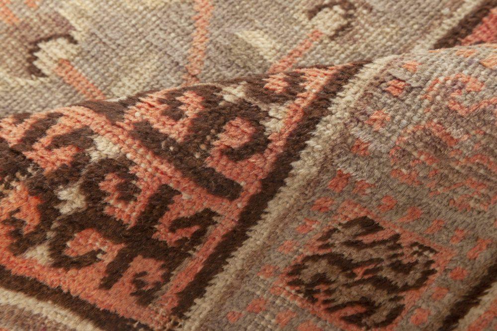 Midcentury Samarkand Handwoven Wool Rug BB7022