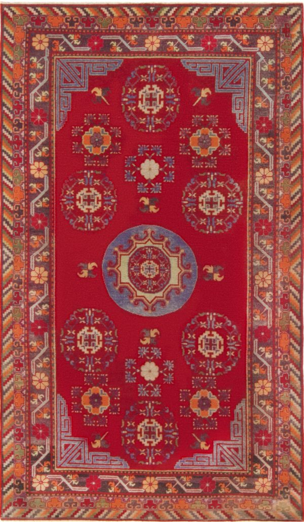 Vintage Samarkand Rug BB7017