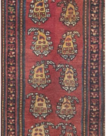 Antique Persian Bakhtiari runner Fragment BB7048