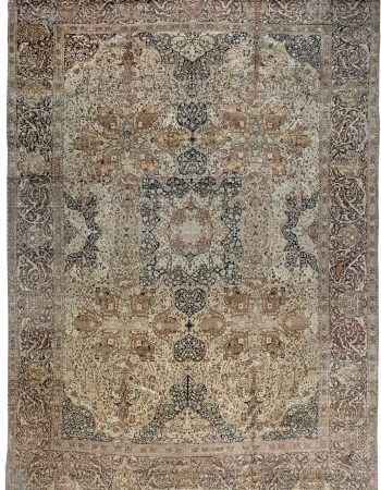 Antique persa Tabriz Tapete BB7035