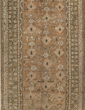 Antique Turkish Oushak Carpet BB7414