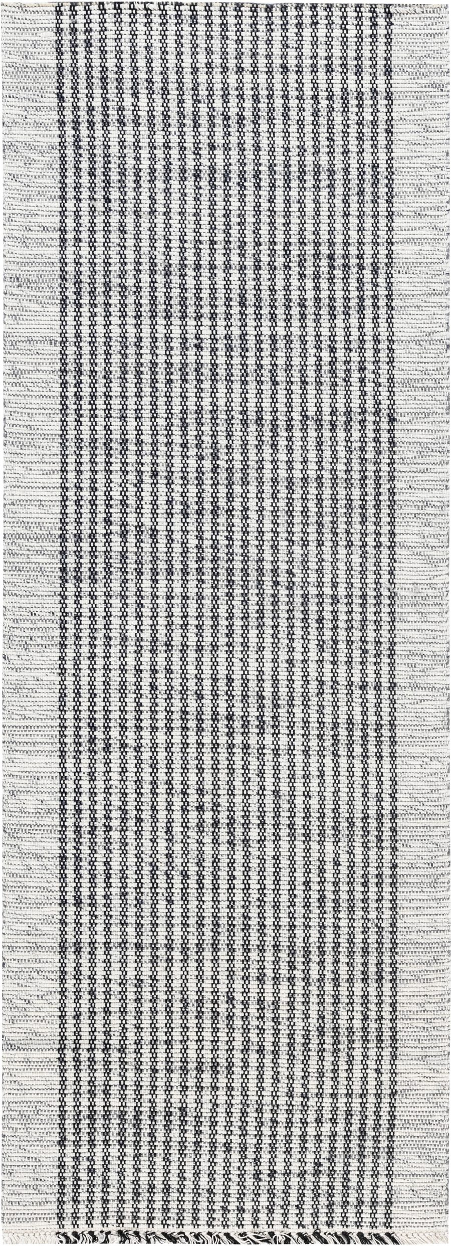 Contemporary Flat Weave Runner N12063
