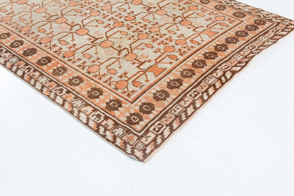 Authentic Vintage Samarkand Rug BB7044