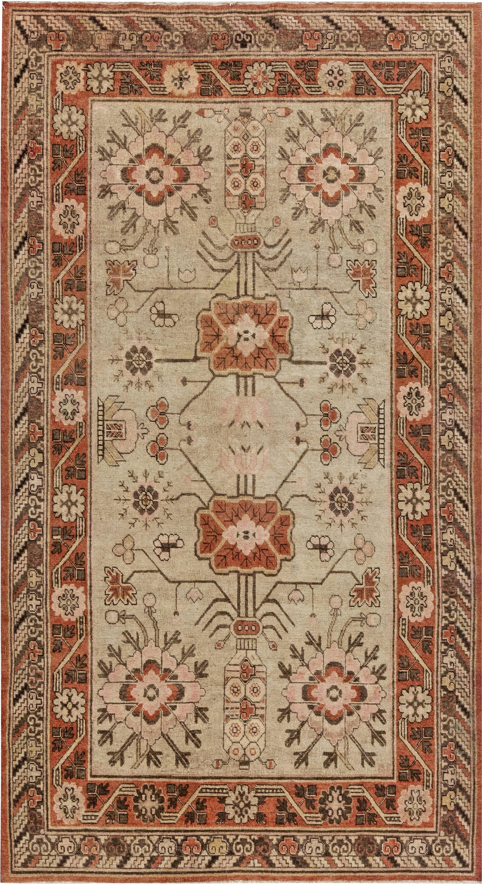 Vintage Samarkand Rug BB7046