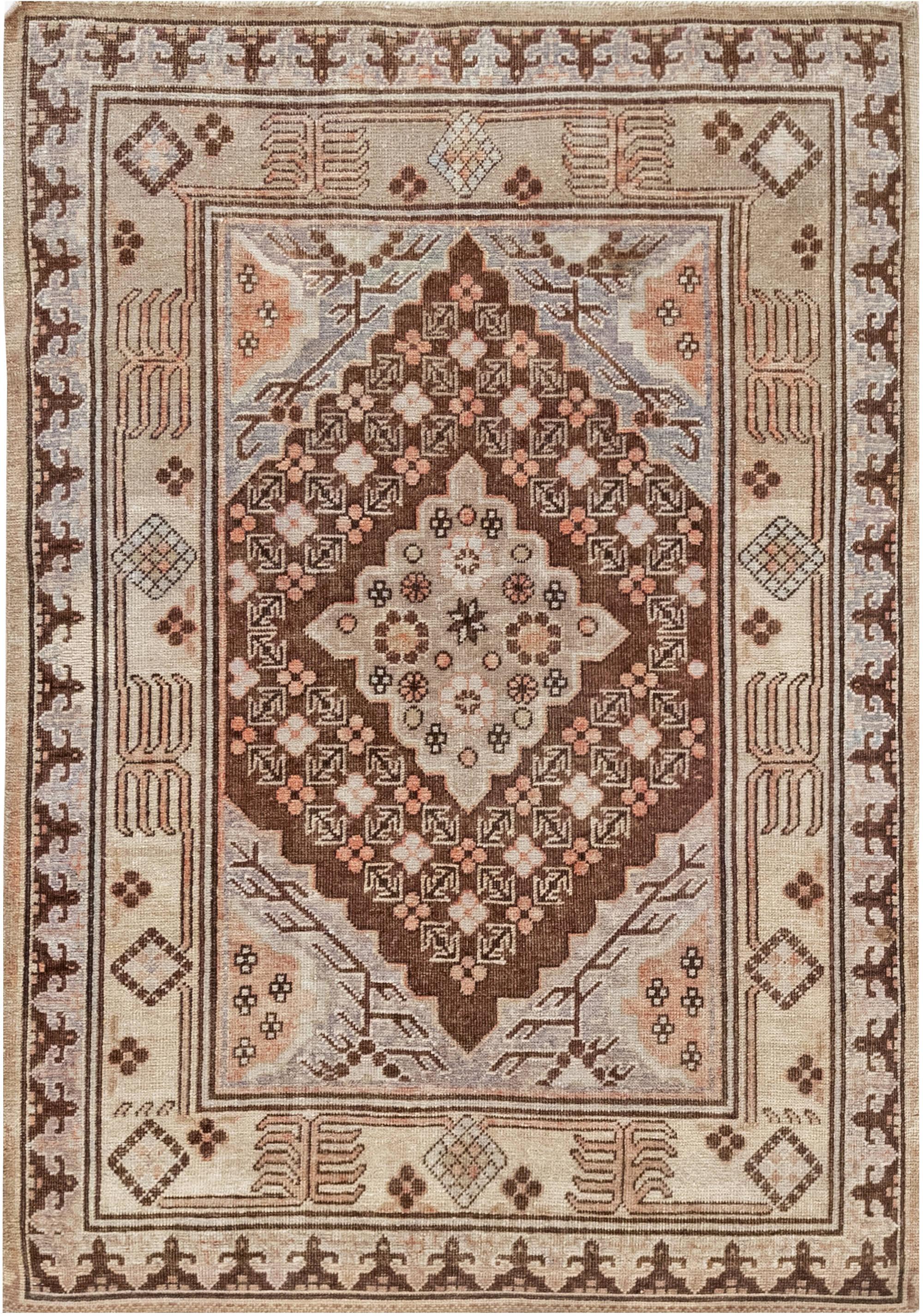 Vintage Samarkand Rug BB7042