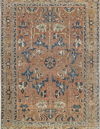Antique Persian Heriz Rug BB7052