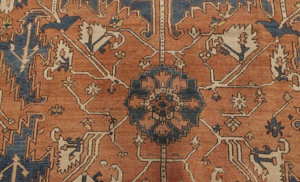 Antique Heriz Rug BB7052