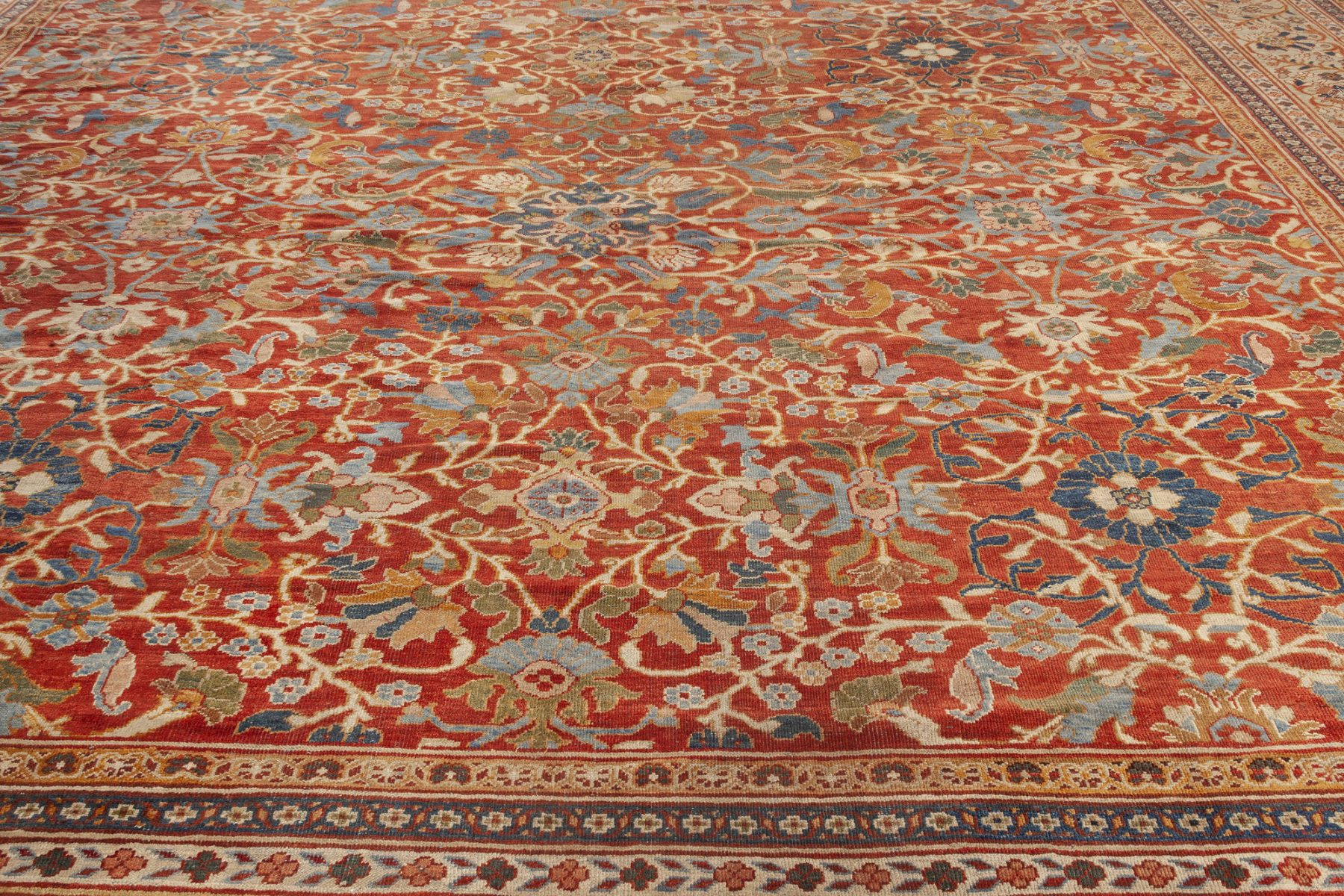 Oversized Sultanabad Rug (Size Adjusted) BB7055