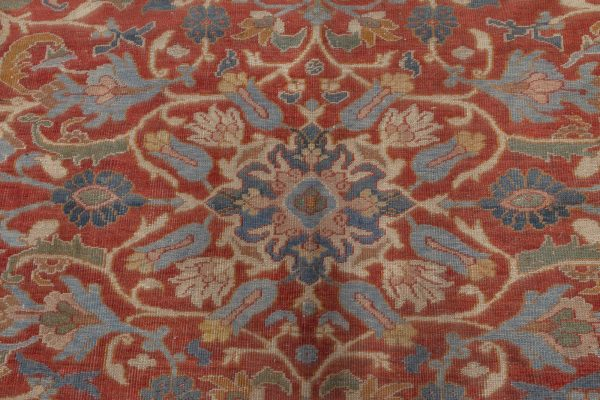 Oversize Persian Sultanabad Rug (sized adjusted) BB7055