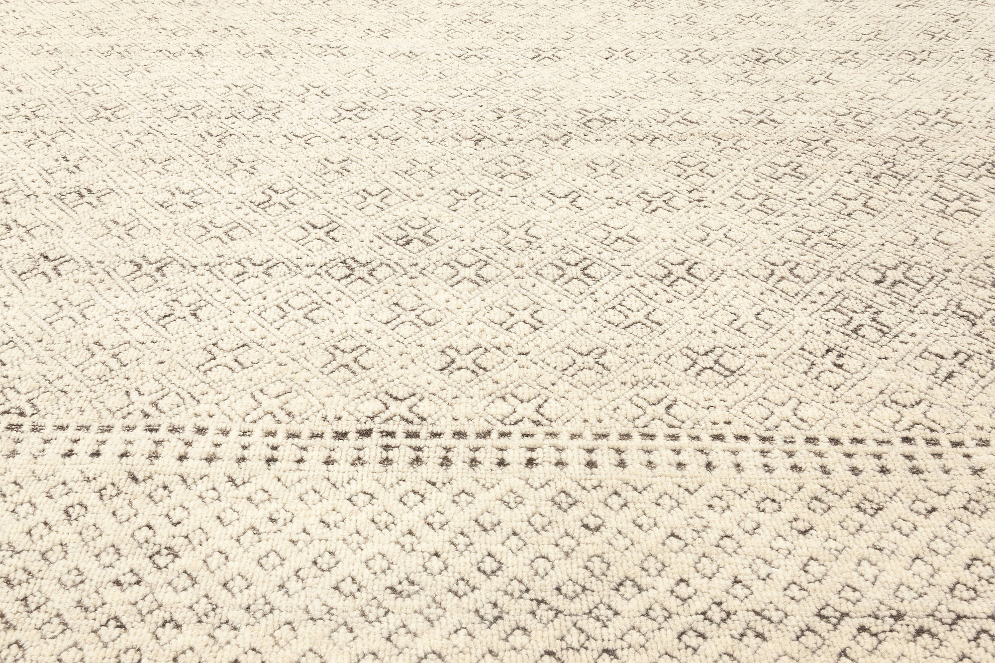 Oversized Moroccan Elements Rug N12072 By Dlb