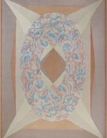 French Art Deco Style Rug N12074