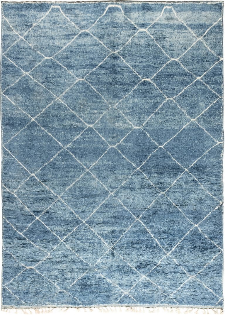 Decorating with Blue Area Rugs