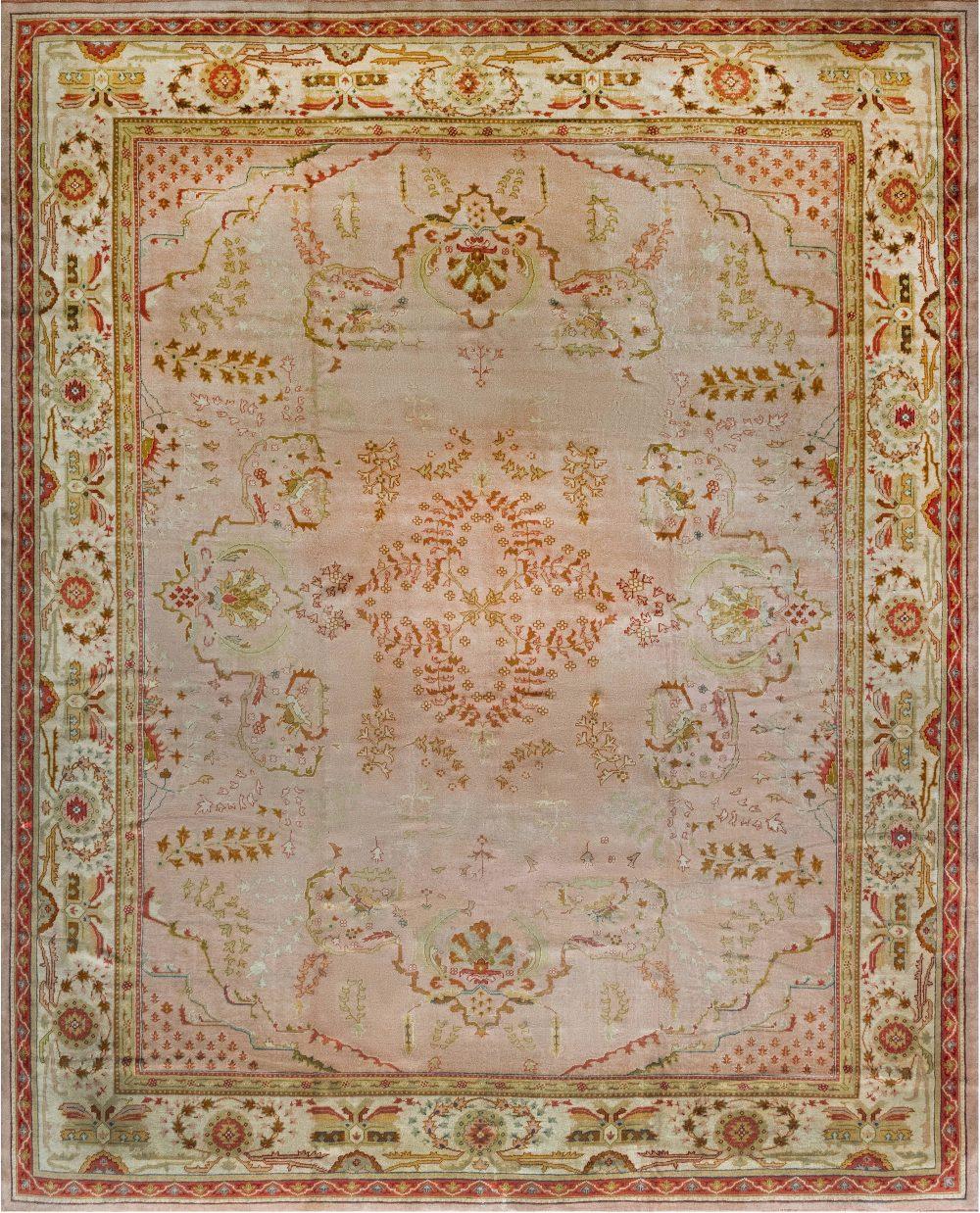 Antique Turkish Oushak Rug 26894