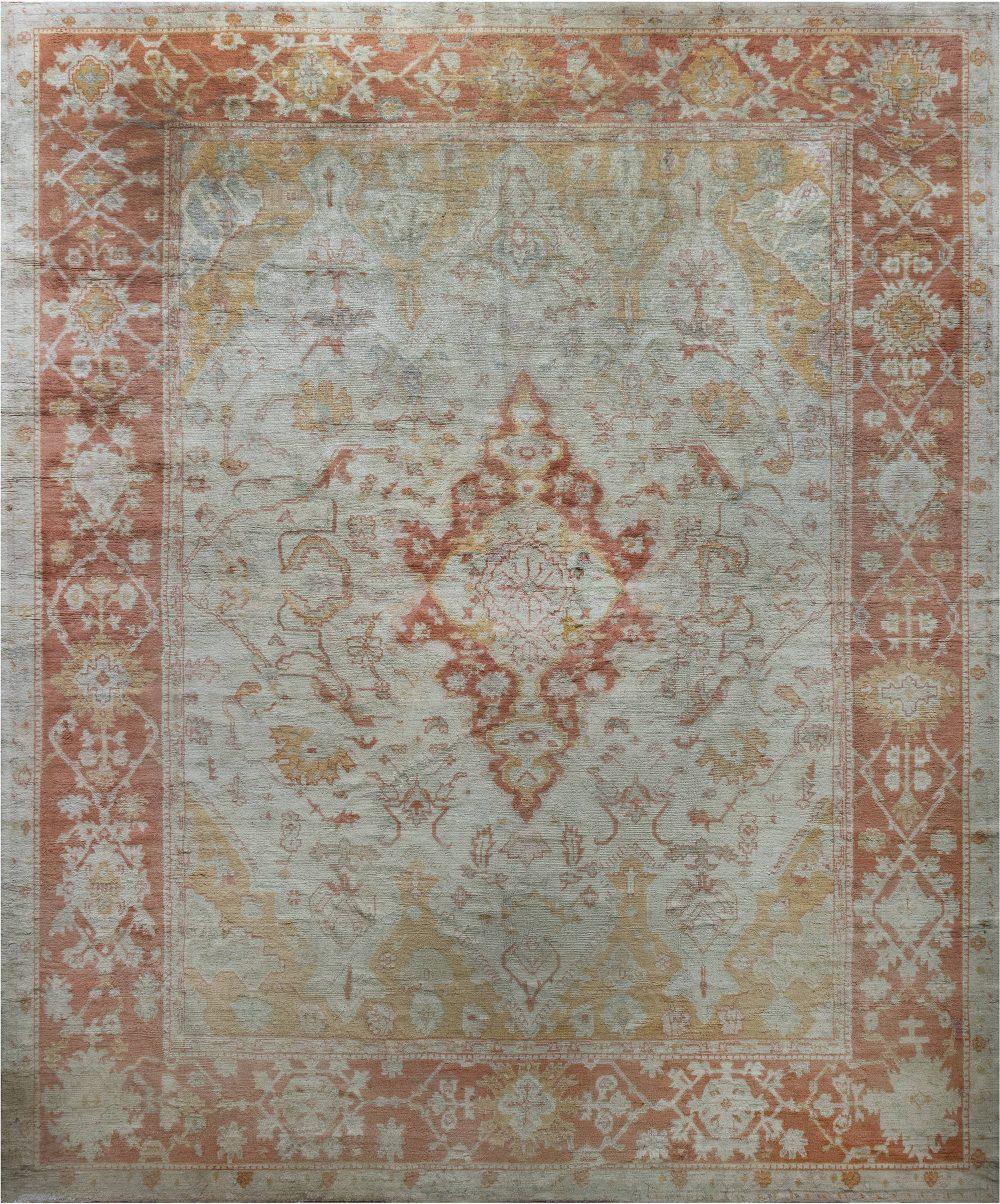 Antique Turkish Oushak 4746