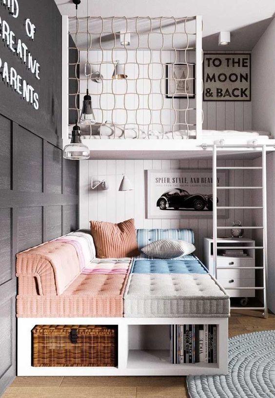Ideas para dormitorio infantiles compartidos