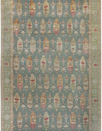 Traditional Oushak Design Rug N12101