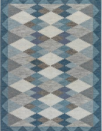 Vintage Swedish Flat Weave Rug BB7069