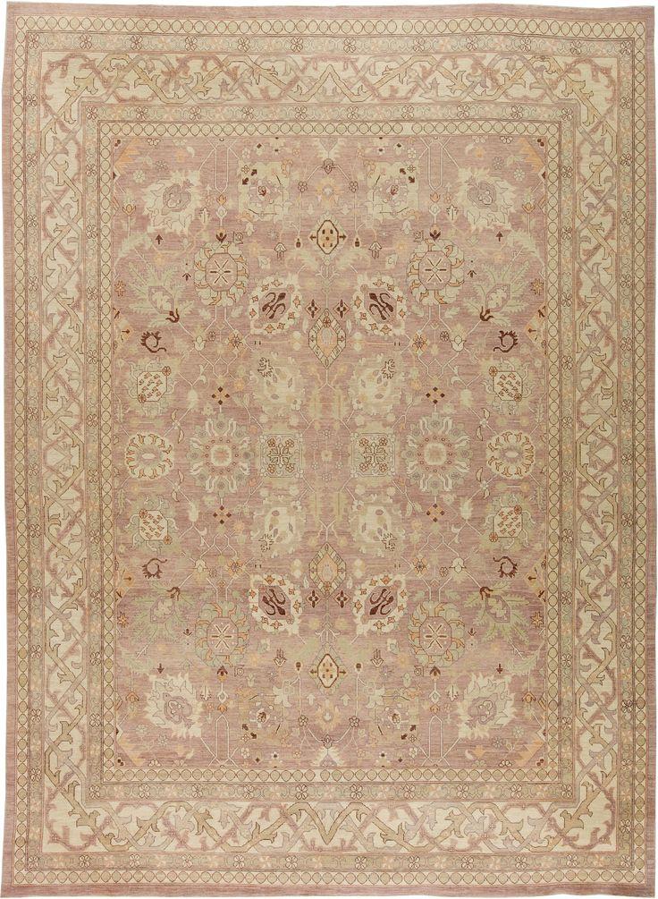 Traditional Oriental Inspired Tabriz Rug N11396 by DLB