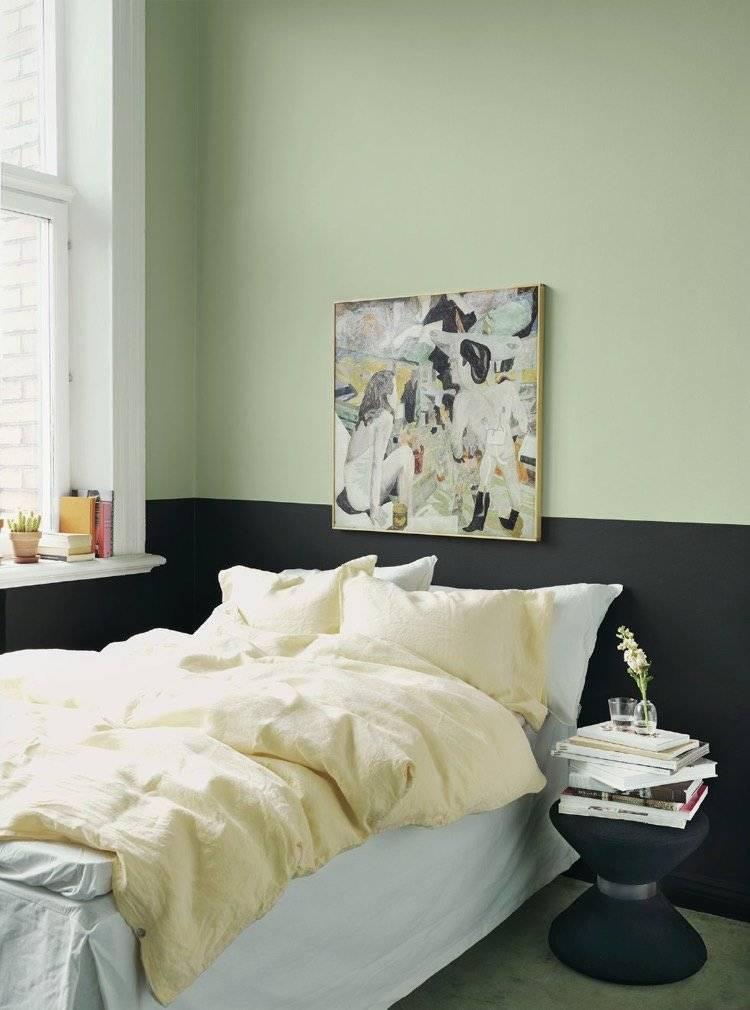 idee deco peinture interieur maison Inspirational Idée déco peinture intérieur maison ?les murs bicolores