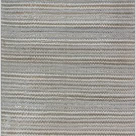 Zig Zag Design Beige, Gray and Green Hand Knotted Bamboo Silk Rug N12114
