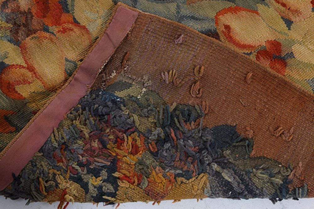 Vintage Aubusson Carpet (Size Adjusted) BB7295
