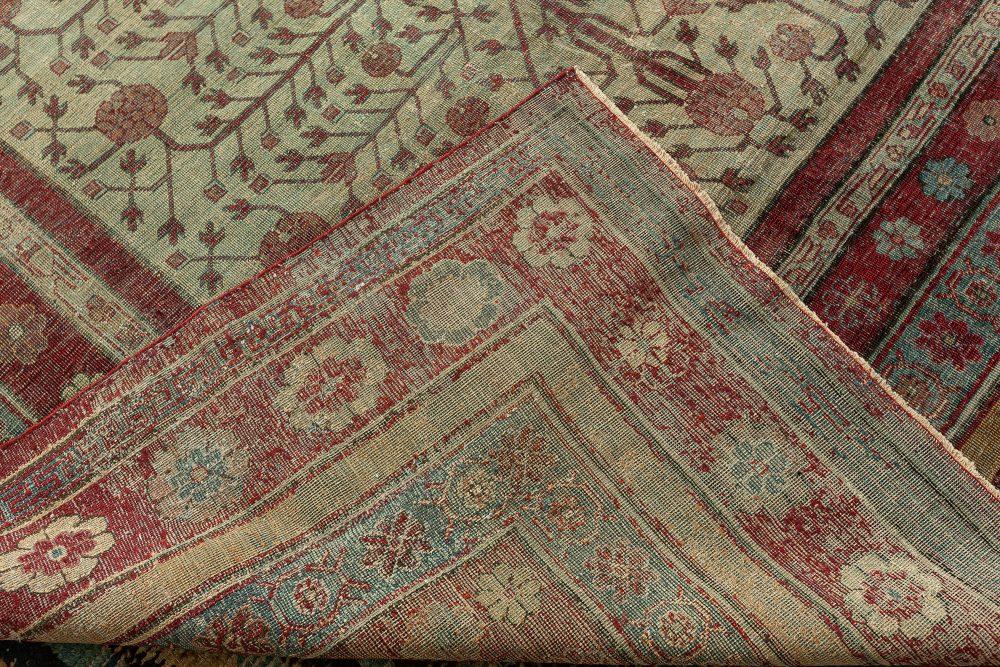 Vintage Silk Samarkand Rug BB7340