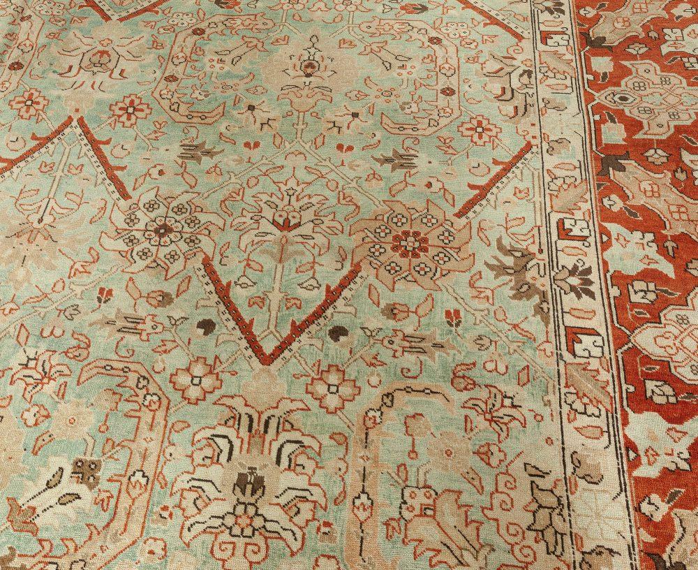 Antique Persian Tabriz Rug BB7343