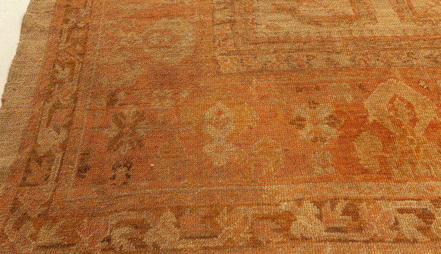 Antique Turkish Oushak Rug BB7356